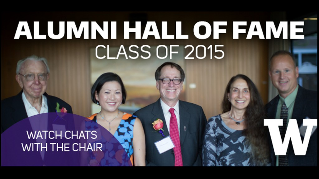 "Ross Reynolds' ""Chat with the Chair,"" Alumni Hall of Fame acceptance speech"