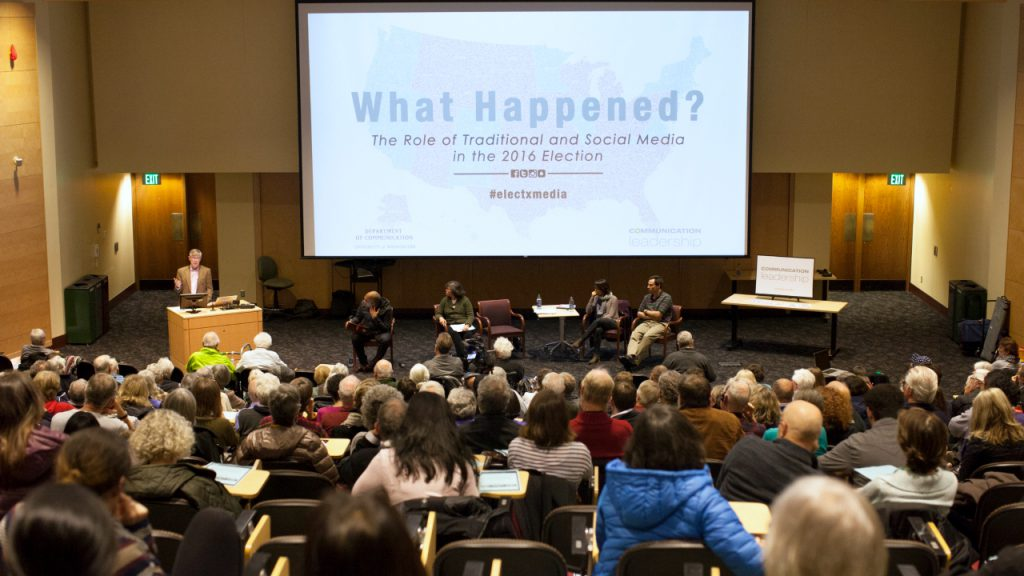 "WATCH: Comm Lead hosts ""What Happened? The Role of Media in the 2016 Election"" expert panel"