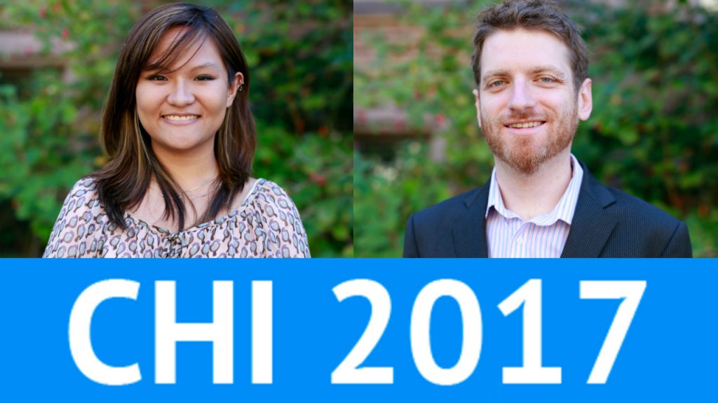 Comm Lead's Mako Hill and Alumna Samantha Hautea Published at CHI 2017