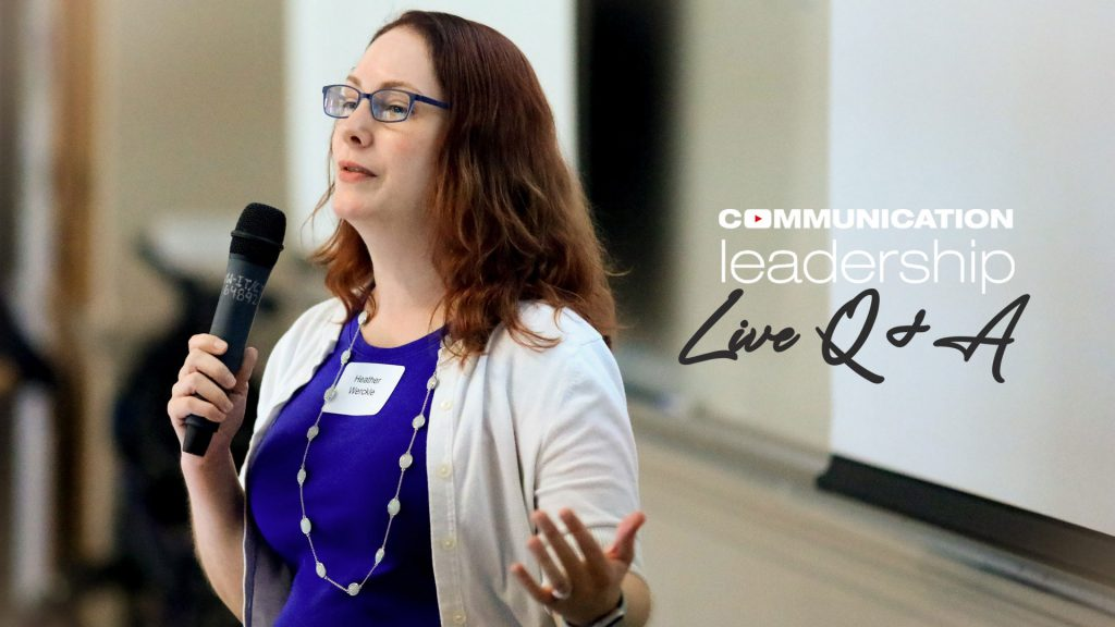Learn more about Comm Lead at a Live Q & A