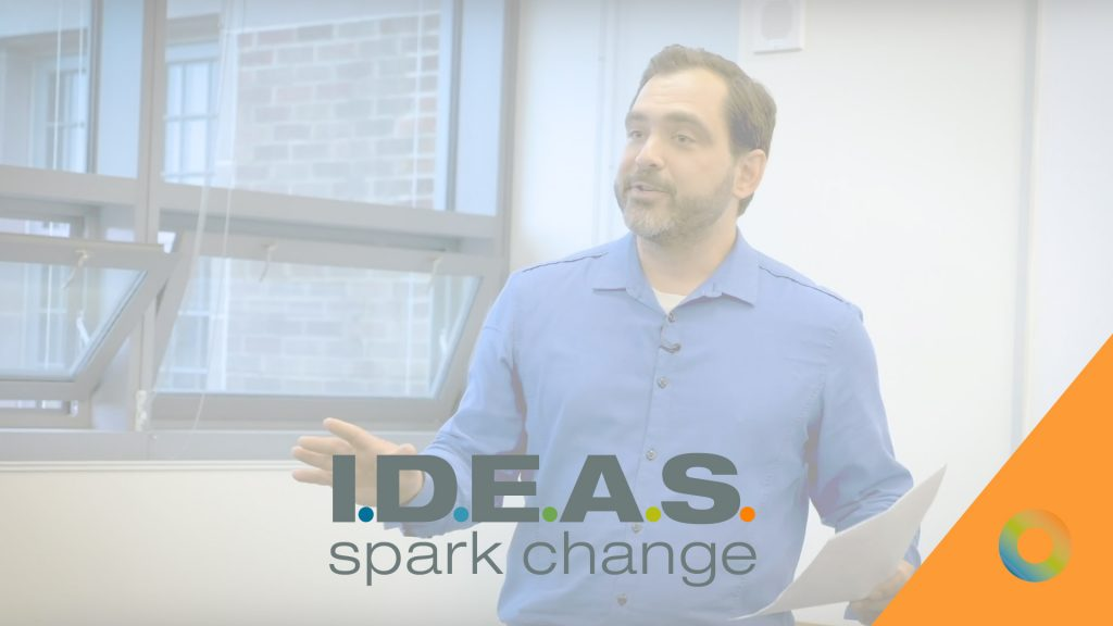 I.D.E.A.S. about Change-making Video – Jordan Melograna