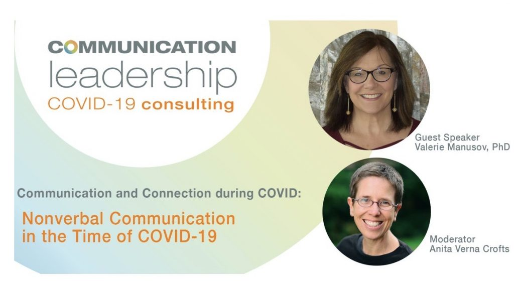 Nonverbal Communication in the Time of COVID-19: Key Takeaways from Valerie Manusov, PhD