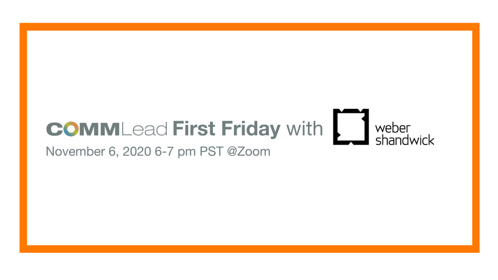 First Friday Interview: Weber Shandwick