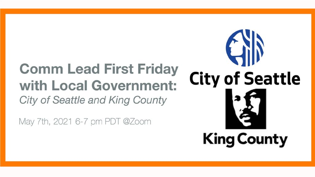 First Friday Interview: City of Seattle