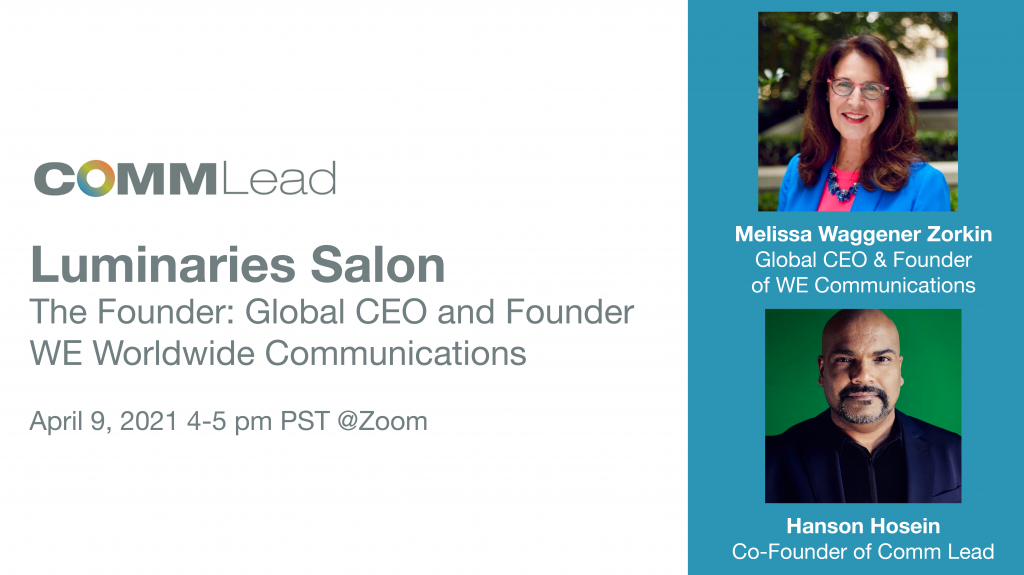 Meet the Founder: Melissa Waggener Zorkin of WE Communications